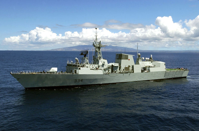 61 Million Contract For Canadian Halifax Class Frigate