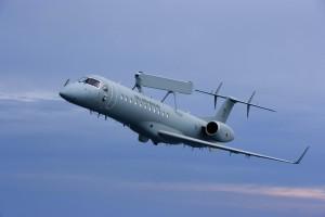 EMB 145 AEW&C (Copyright 2009 © Embraer S.A.  Todos os direitos reservados)