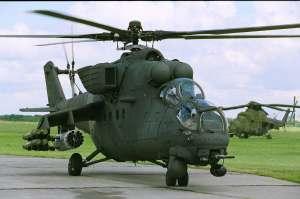 Rusia se afianza como uno de los principales proovedores en la región. En la foto, un Mi-35 venezolano.
