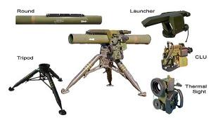 Spike. Misil, sistema de guiado y lanzador.