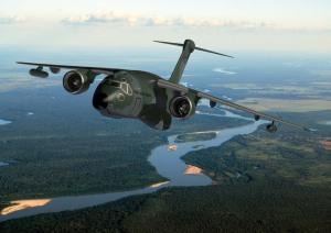 KC-390 sobre el Amazonas