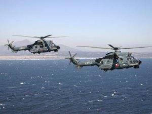 Helicópteros Cougar de la Armada de Chile (Foto: Armada de Chile)