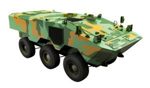 Iveco VBTP-MR, tal como será presentado en LAAD (Fuente: Tecnologia & Defesa)