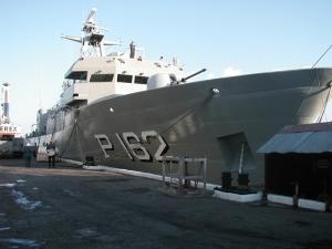 Patrulla PO-162, gemelo del PO-161. Click en la foto para acceder a las características del buque.