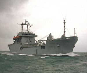 LSL Sir Bedivere (Fuente: Royal Navy)