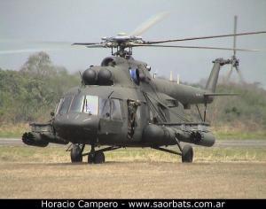 MI-17 venezolano. (Click en la foto para más información vía SAORBATS)