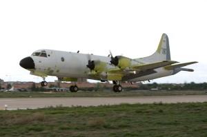 P-3BR en su primer vuelo (Foto: EADS)