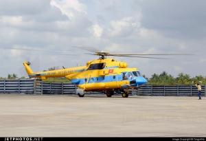 Vietnam es otro pais que utiliza el MI-17 en tareas SAR.