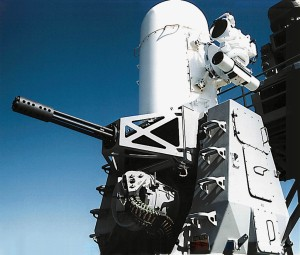 Phalanx CIWS (Photo:  Raytheon)