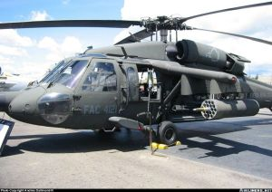 Los S-70 Arpía han tenido gran éxito contra las FARC. Ahora las FARC buscan contrarestarlos. (Foto: Airliners.net)