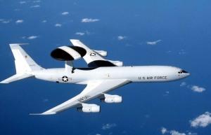Los E-3 Sentry de la USAF operaban desde Manta