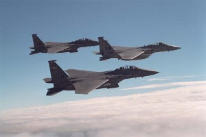 12 F-15C de la USAF participarán en Salitre 2009