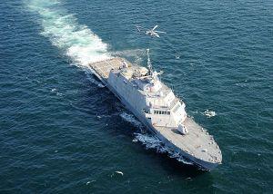"""El USS """"Freedom"""" (LCS-1) de Loockeed Martin - CLick en la foto para ver mas el LCS-1"""