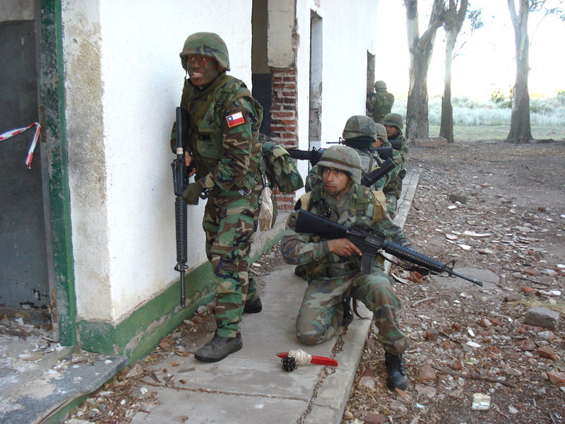 infanteria de marina argentina vs infanteria de marina chile